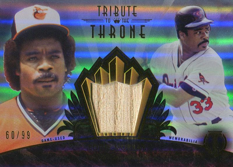 Eddie Murray Unsigned 2014 Topps Bat Card PSM-Powers Sports Memorabilia