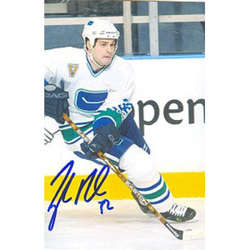 Tyler Bouck Vancouver Canucks Autographed 4x6 Photo. This item comes with a certificate of authenticity from Autograph-Sports. PSM-Powers Sports Memorabilia