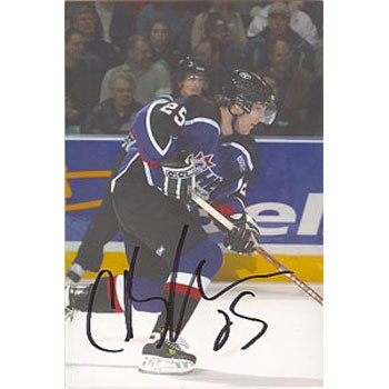 Cam Barker CHL All-Stars Autographed 4x6 Photo. This item comes with a certificate of authenticity from Autograph-Sports. PSM-Powers Sports Memorabilia