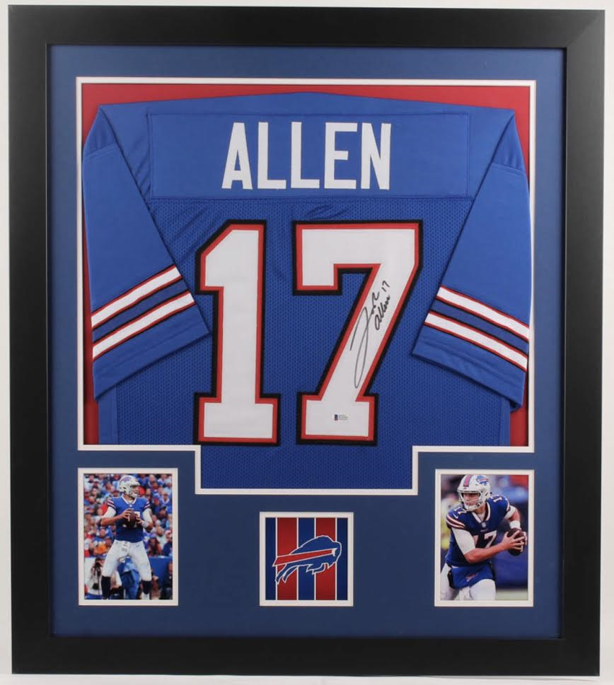 Sports Autographed Jersey Framing Varsity Style (7-10 day turnaround)-Powers Sports Memorabilia