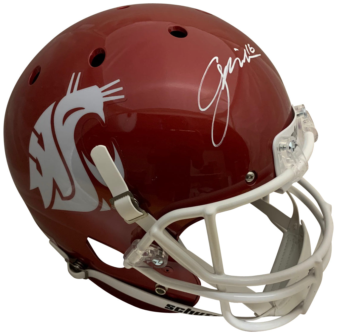 Gardner Minshew Autographed Washington State Cougars Signed Full Size Football Helmet Beckett BAS COA-Powers Sports Memorabilia