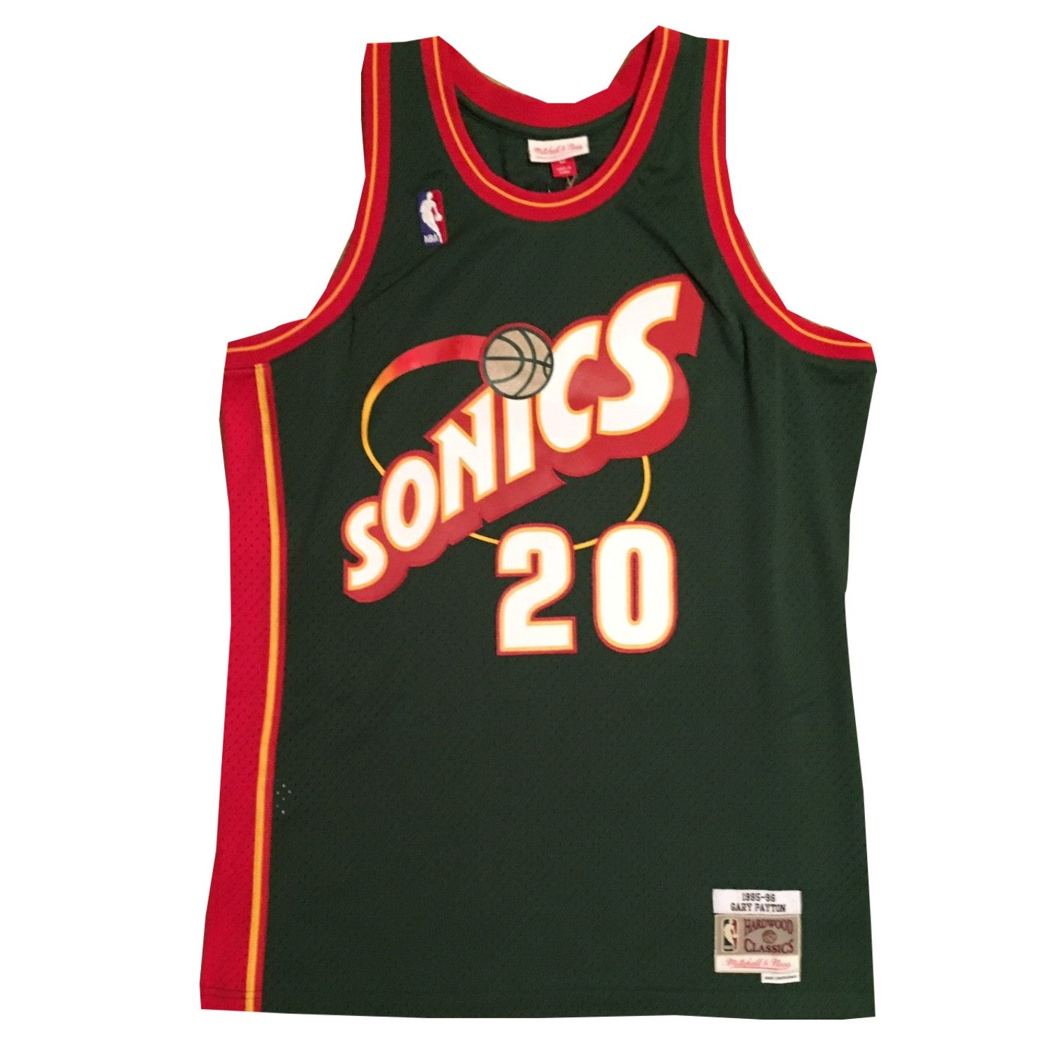 sale retailer dfe40 032b4 Gary Payton Autographed Seattle SuperSonics Authentic Framed ...