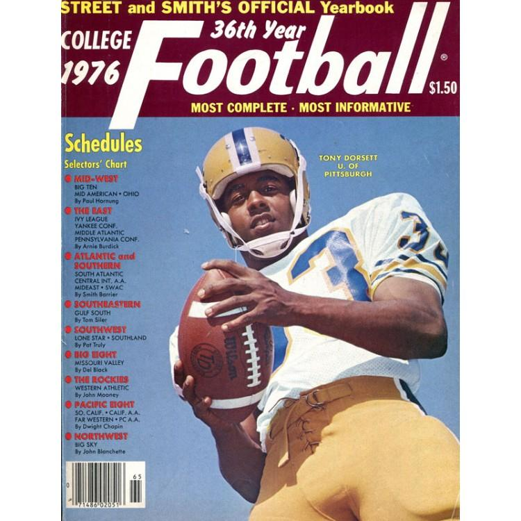 Tony Dorsett Unsigned 1976 College Football Yearbook PSM-Powers Sports Memorabilia