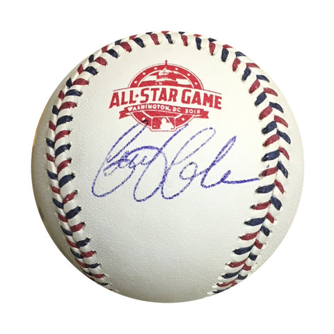 Gerrit Cole Houston Astros Autographed 2018 All Star Game Signed Baseball PSA DNA COA With Display Case-Powers Sports Memorabilia