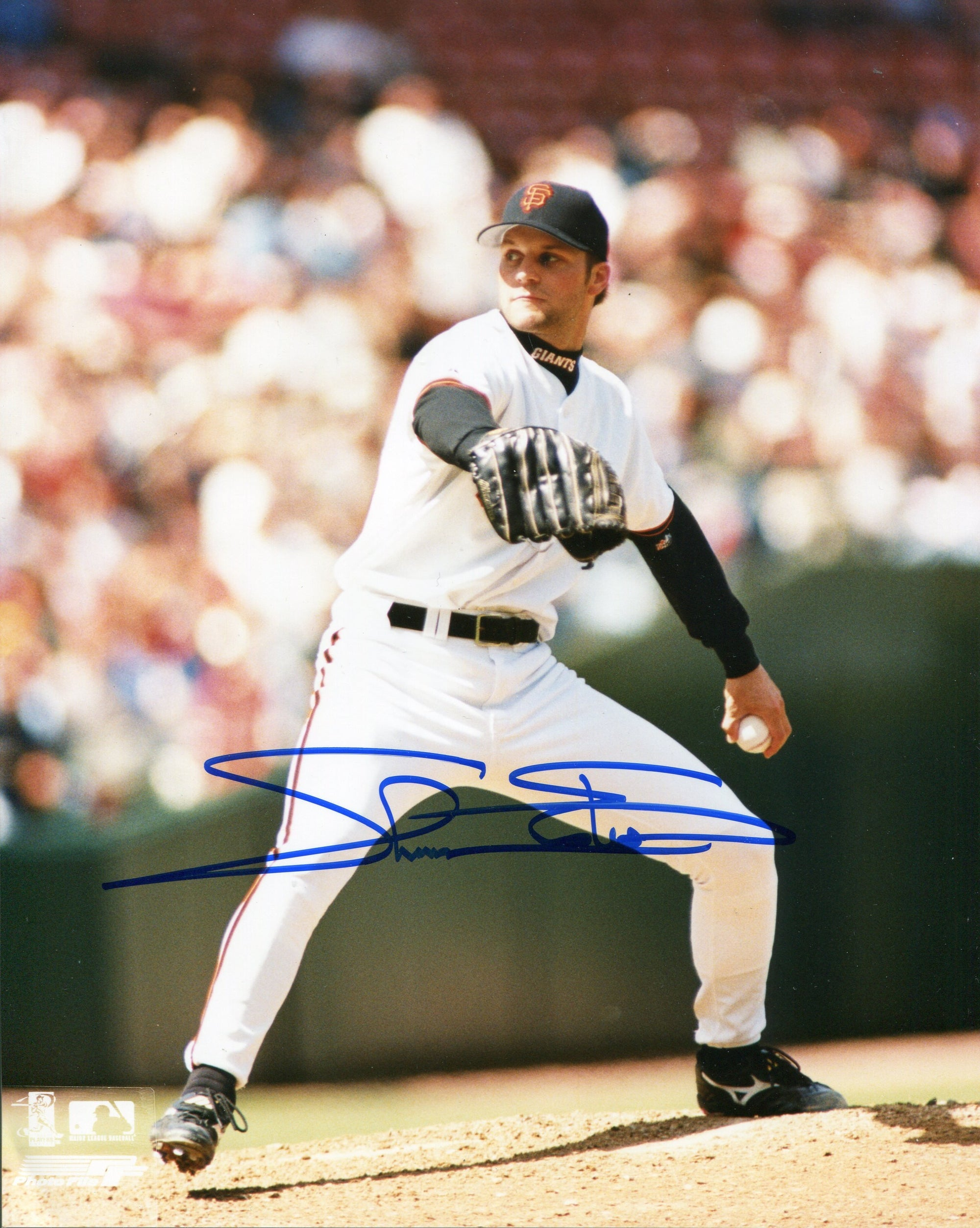 Shawn Estes Autographed San Francisco Giants 8x10 Photo PSM-Powers Sports Memorabilia