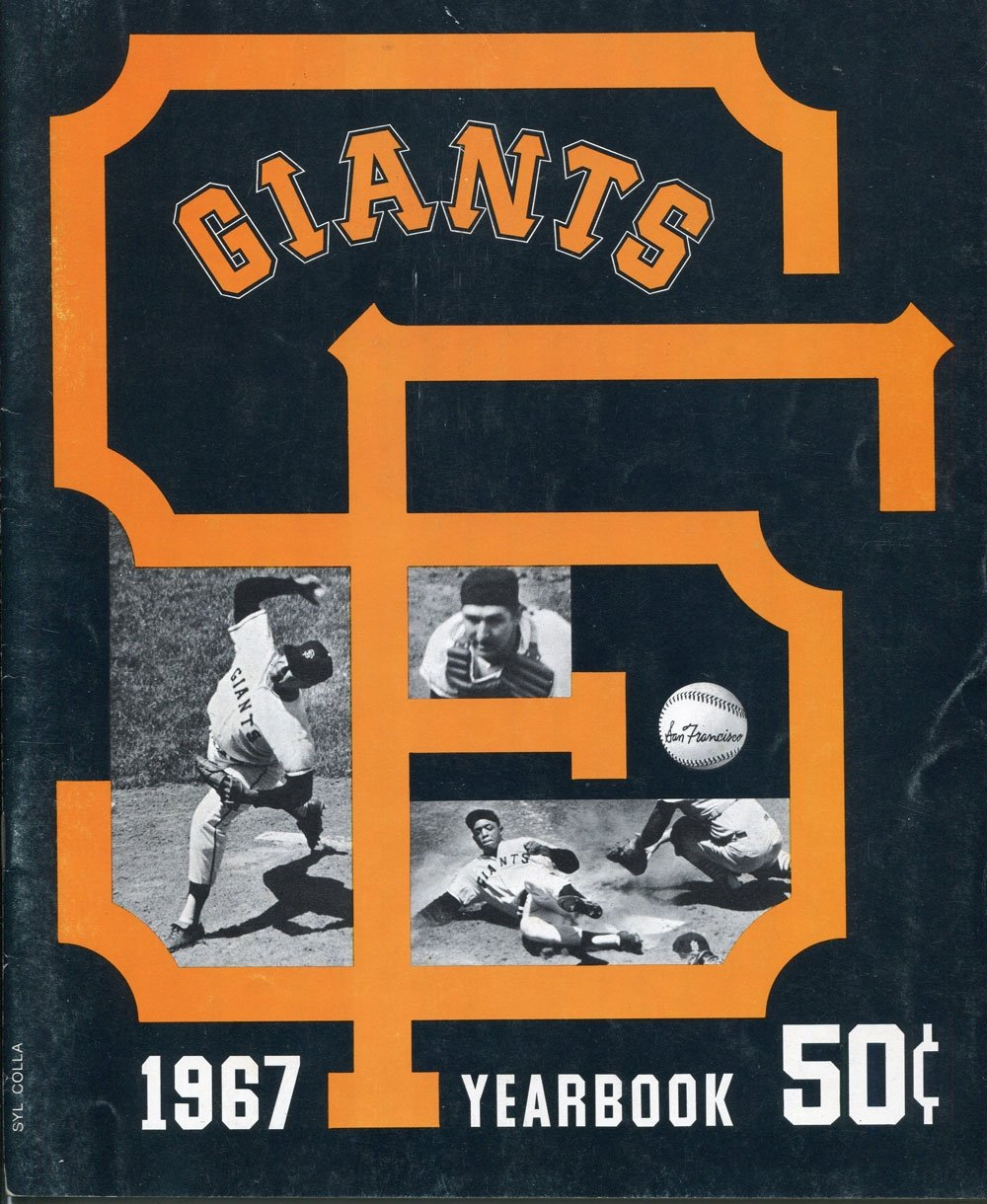 San Francisco Giants 1967 Official Yearbook PSM-Powers Sports Memorabilia