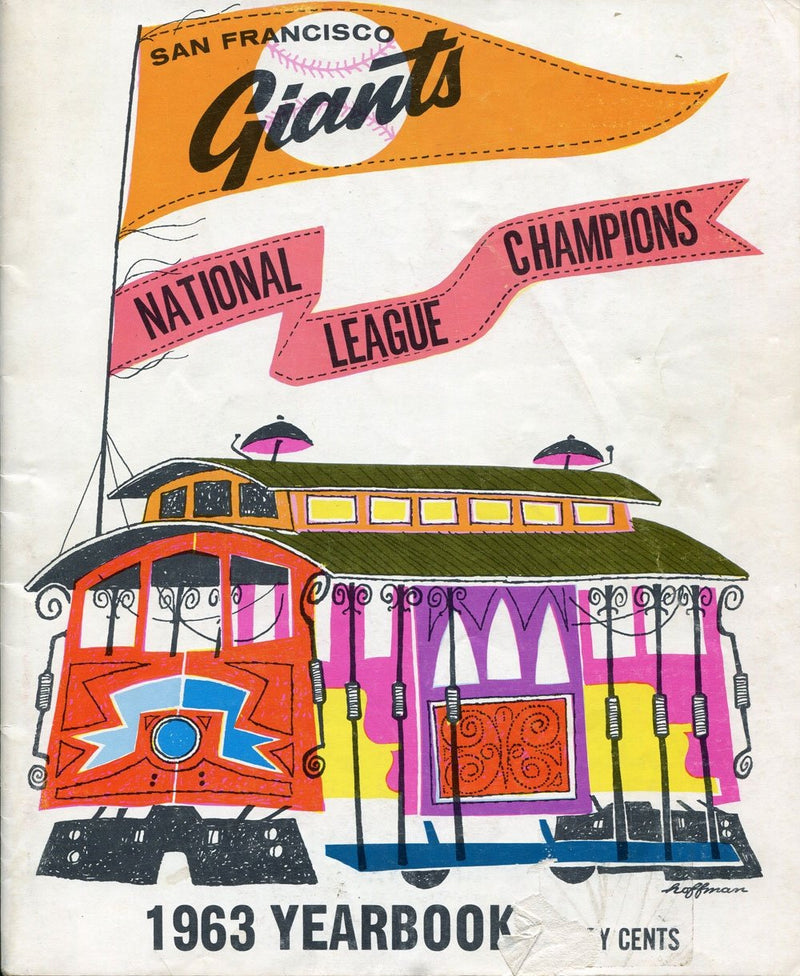 San Francisco Giants 1963 Yearbook PSM-Powers Sports Memorabilia