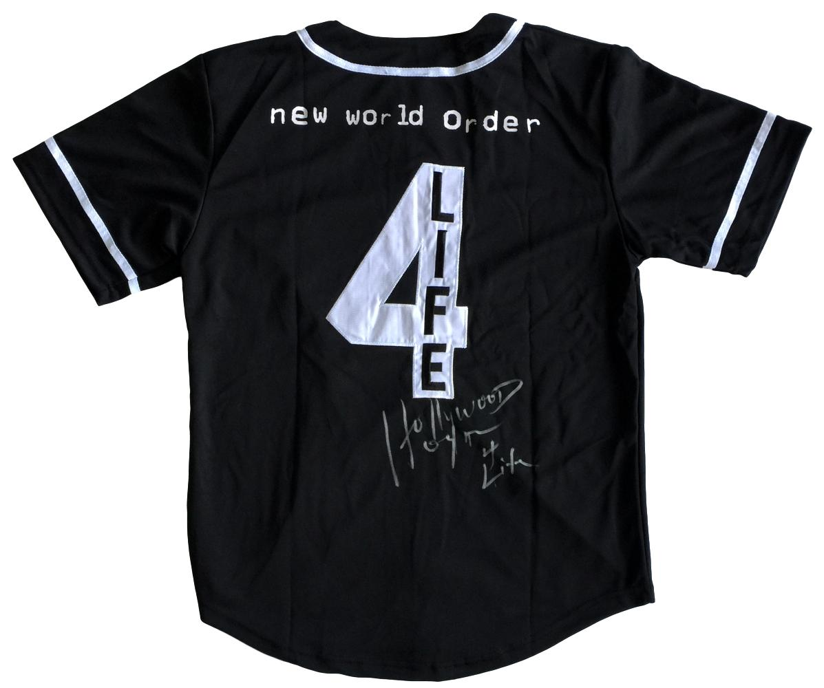 Hulk Hogan Signed Authentic WWE New World Order NWO Baseball Jersey 4 Life JSA PSM-Powers Sports Memorabilia