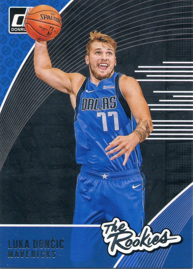 Luka Doncic 2018-19 Panini Donruss Rookie Card PSM-Powers Sports Memorabilia