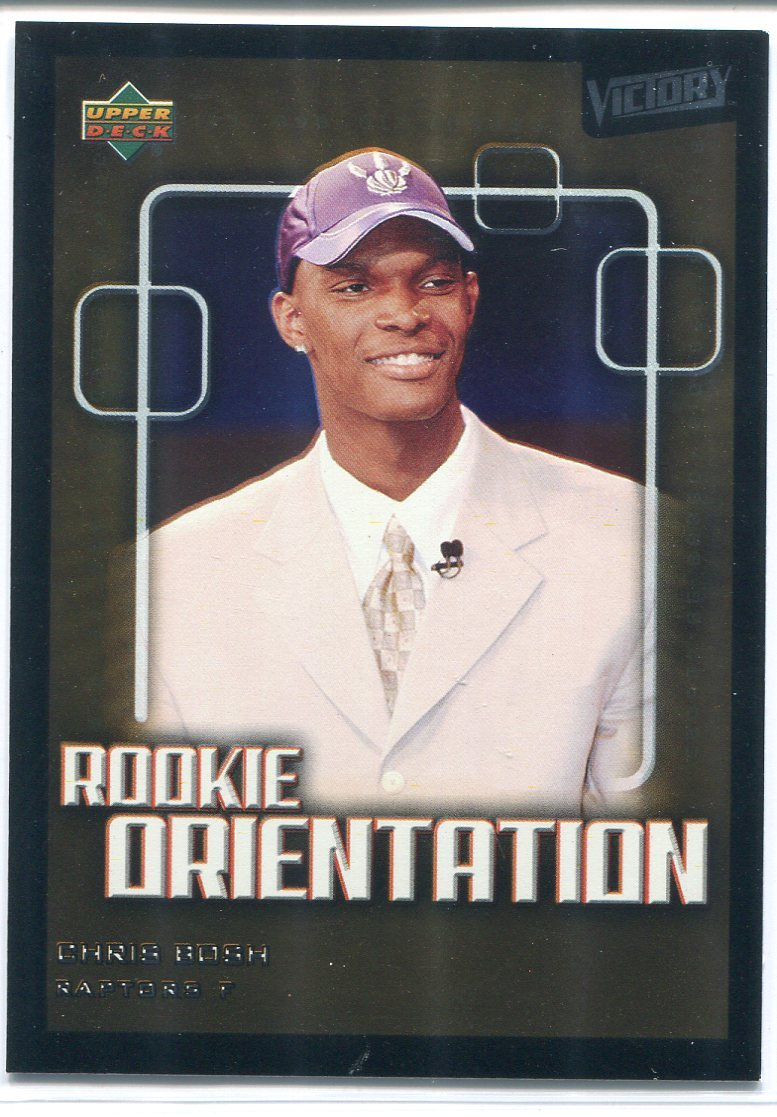 Chris Bosh 2003-04 Upper Deck Victory Rookie Card PSM-Powers Sports Memorabilia