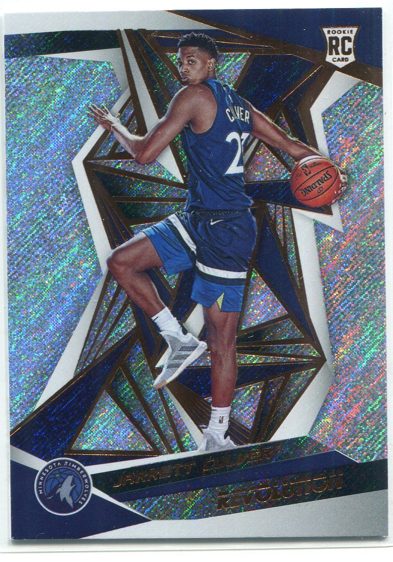 Jarrett Culver 2019-20 Panini Revolution Rookie Card PSM-Powers Sports Memorabilia