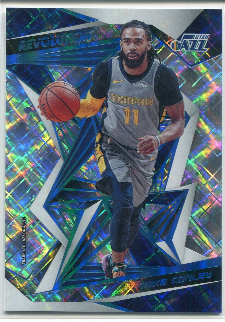 Mike Conley 2019-20 Panini Revolution Cosmic Card PSM-Powers Sports Memorabilia