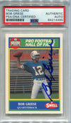 Bob Griese Autographed 1990 Swell Card #155 (PSA) PSM-Powers Sports Memorabilia