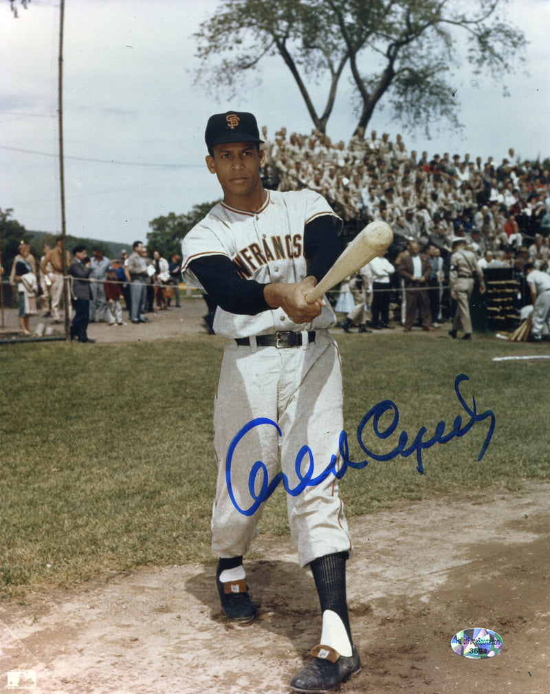 Orlando Cepeda Signed San Francisco Giants 8x10 Photo PSM-Powers Sports Memorabilia