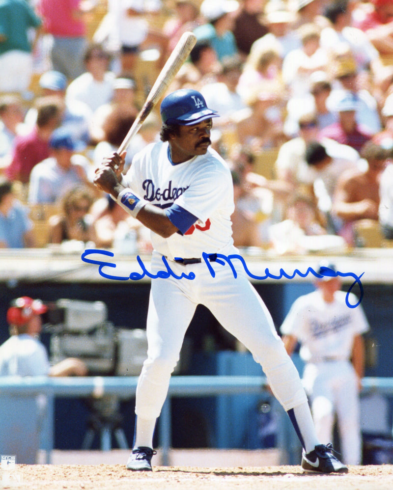 Eddie Murray Autographed 8x10 Photo PSM-Powers Sports Memorabilia