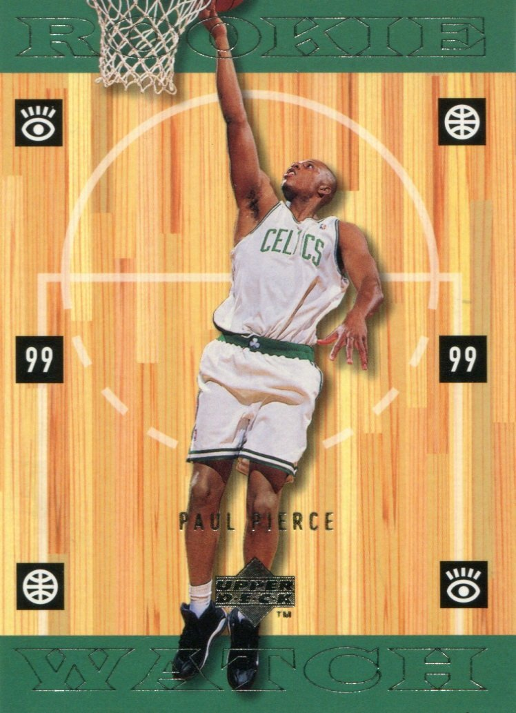 Paul Pierce 1999 Upper Deck Rookie Watch Card PSM-Powers Sports Memorabilia