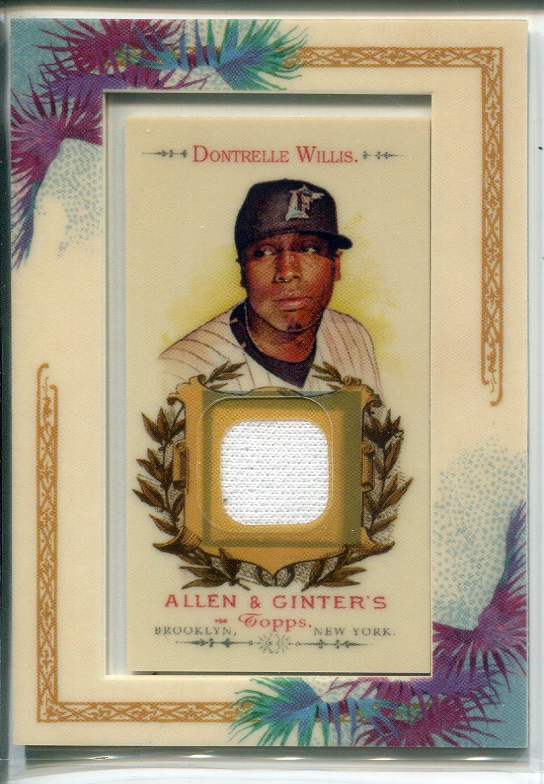 Dontrelle Willis 2007 Topps Allen & Ginter Jersey Card PSM-Powers Sports Memorabilia