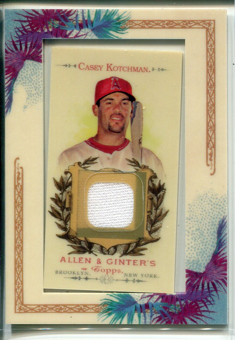 Casey Kotchman 2007 Topps Allen & Ginter Jersey Card PSM-Powers Sports Memorabilia