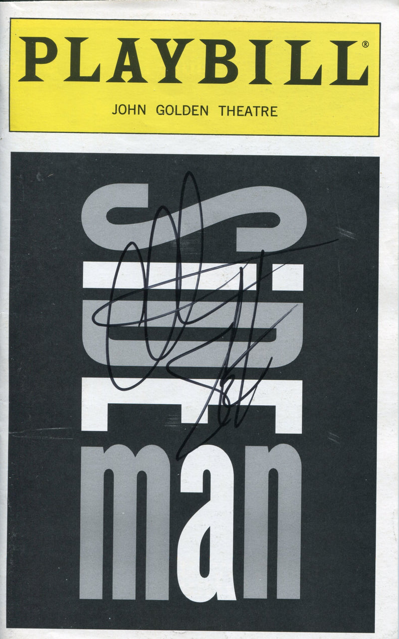 Christian Slater Autographed Side Man Playbill Program PSM-Powers Sports Memorabilia