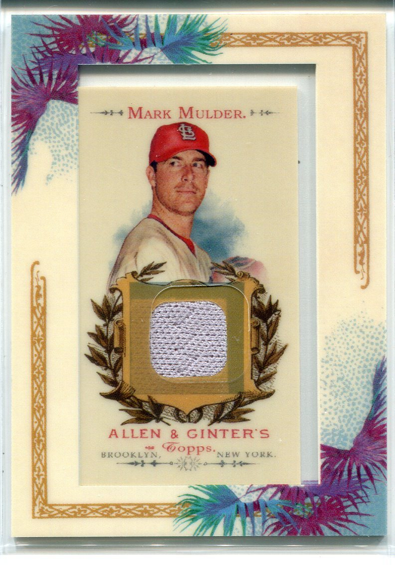 Mark Mulder 2007 Topps Allen & Ginter Jersey Card PSM-Powers Sports Memorabilia