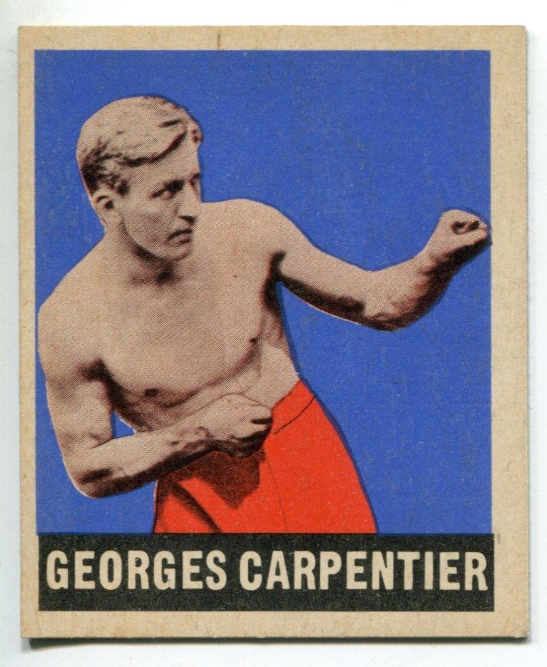 Georges Carpentier 1948 Leaf Boxing Card #67 PSM-Powers Sports Memorabilia