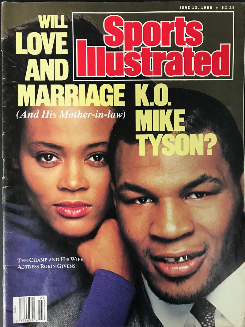 Mike Tyson Unsigned Sports Illustrated June 13 1988 PSM-Powers Sports Memorabilia