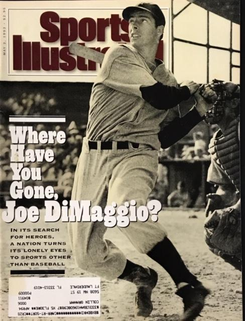 Joe DiMaggio Unsigned Sports Illustrated May 3 1993 PSM-Powers Sports Memorabilia