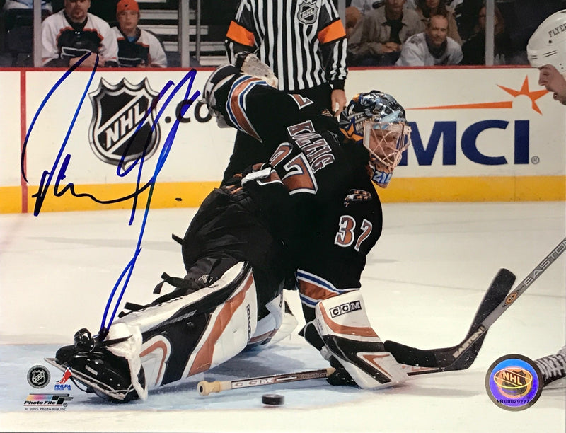 Olaf Kolzig Signed 8x10 Photo Washington Capitals PSM-Powers Sports Memorabilia