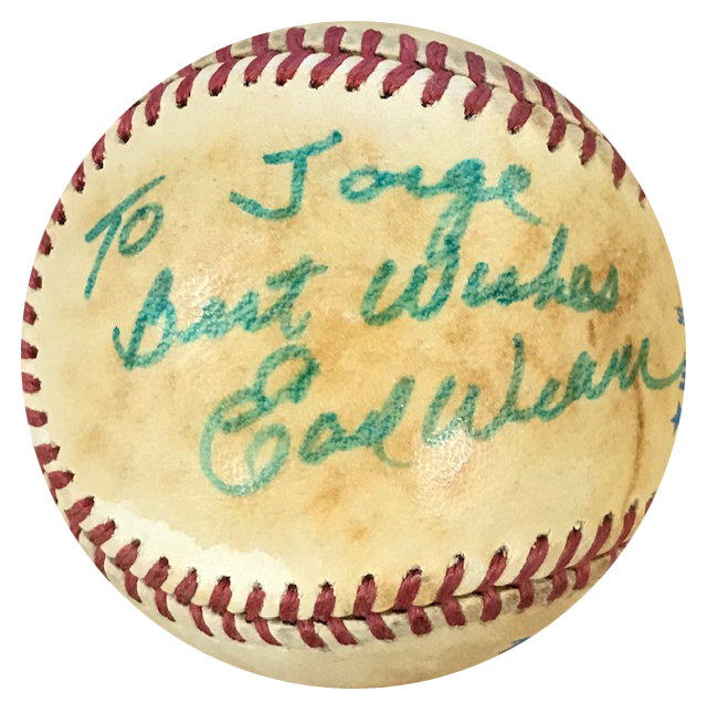 Earl Weaver Autographed Official American League Baseball PSM-Powers Sports Memorabilia