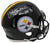 Jack Lambert Signed Pittsburgh Steelers Full Size Spd Authentic Helmet HOF BAS PSM