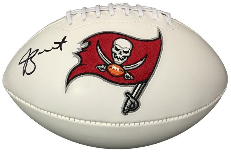 Jameis Winston Signed Tampa Bay Buccaneers Logo Football JSA+Winston PSM-Powers Sports Memorabilia