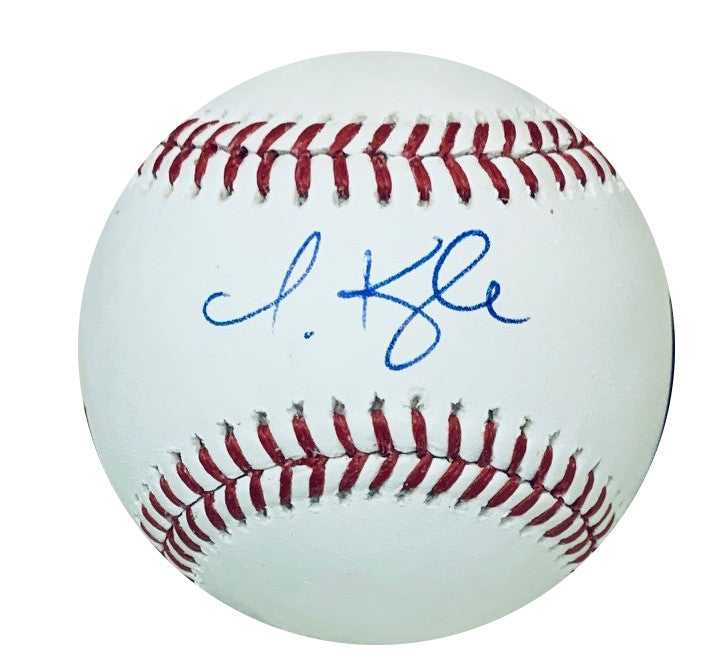 Jarred Kelenic Autographed Seattle Mariners Signed MLB Authentic Baseball PSA DNA COA With UV Display Case-Powers Sports Memorabilia