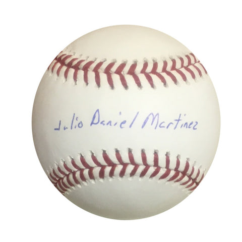 J.D. Martinez Boston Red Sox Autographed Full Name Signed Baseball Steiner Sports COA JD-Powers Sports Memorabilia