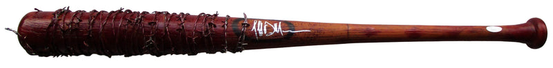 Jeffrey Dean Morgan Signed Walking Dead Lucille Bloody Prop Baseball Bat JSA PSM-Powers Sports Memorabilia