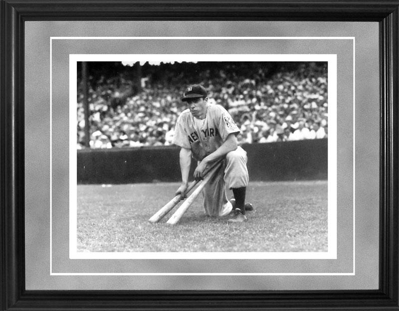 Joe DiMaggio Framed Black & White 11x14 Original Brearley Collection Photo PSM-Powers Sports Memorabilia
