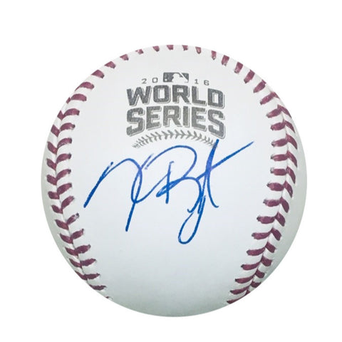 Kris Bryant Chicago Cubs Autographed 2016 World Series Signed Baseball JSA COA With UV Display Case-Powers Sports Memorabilia