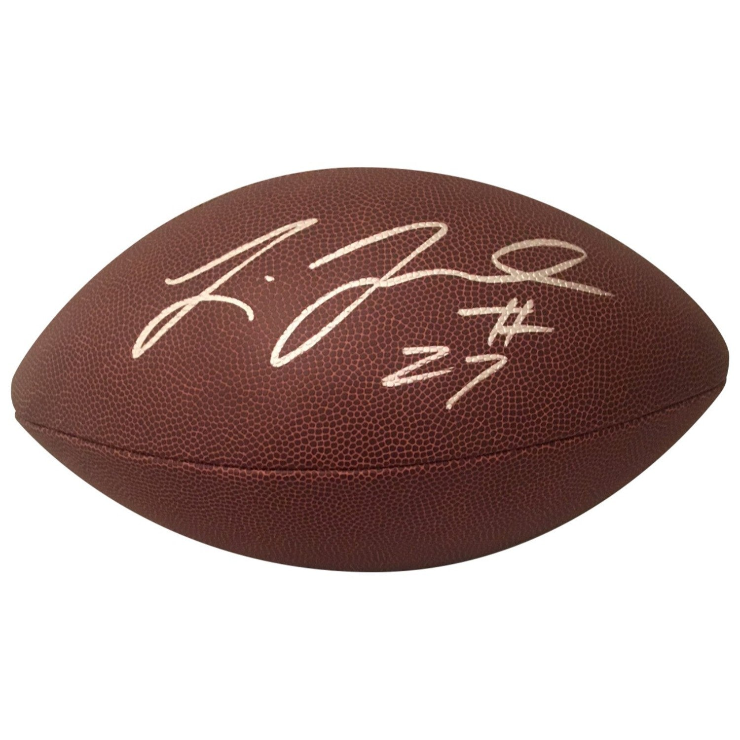 Leonard Fournette Jacksonville Jaguars LSU Tigers Autographed NFL Signed Football PSA DNA COA-Powers Sports Memorabilia