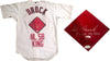 "Lou Brock ""8x NL SB King"" Autographed St. Louis Cardinals Jersey (JSA) PSM-Powers Sports Memorabilia"