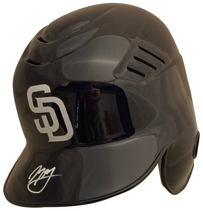 Manny Machado Autographed San Diego Padres Signed Baseball Batting Helmet PSA DNA COA-Powers Sports Memorabilia
