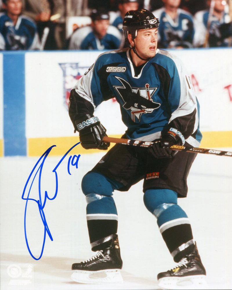 Marco Strum Autographed San Jose Sharks 8x10 Photo PSM-Powers Sports Memorabilia