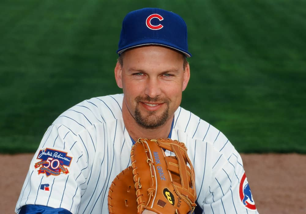 Mark Grace Autograph Signing-Powers Sports Memorabilia