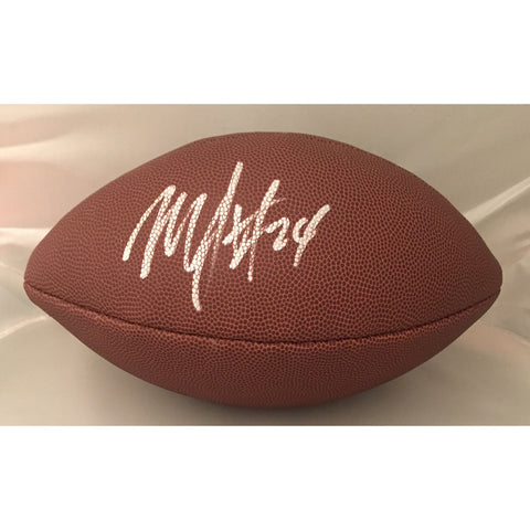 Marshawn Lynch Seattle Seahawks Oakland Raiders Autographed NFL Signed Football Beckett Authentication COA-Powers Sports Memorabilia