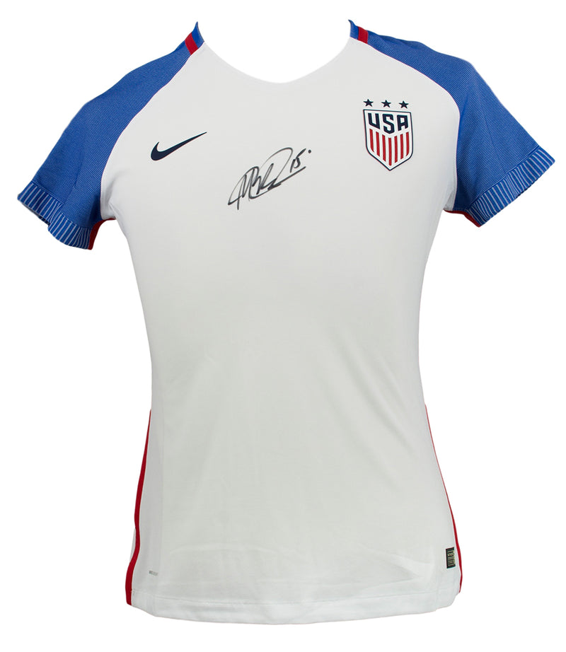 Megan Rapinoe Signed Nike Authentic USA Blue White Soccer Jersey Medium JSA PSM-Powers Sports Memorabilia