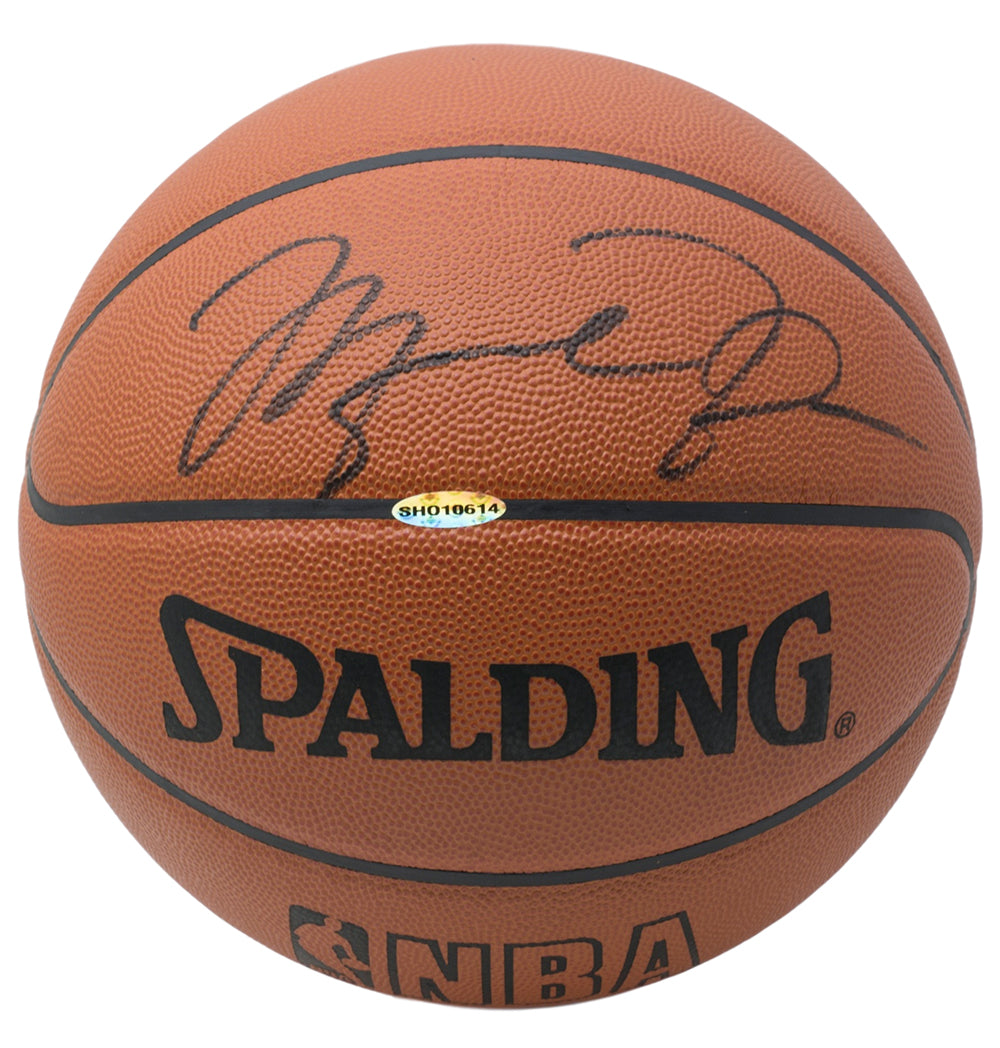 Michael Jordan Chicago Bulls Signed Spalding Authentic Basketball UDA PSM-Powers Sports Memorabilia