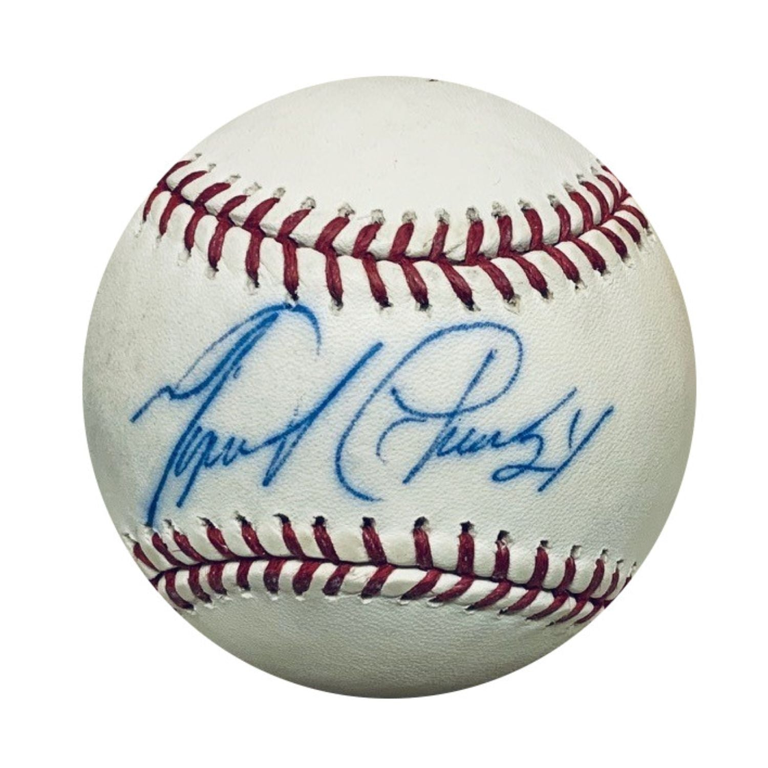 Miguel Cabrera Detroit Tigers Autographed MLB Signed Baseball JSA COA With UV Display Case