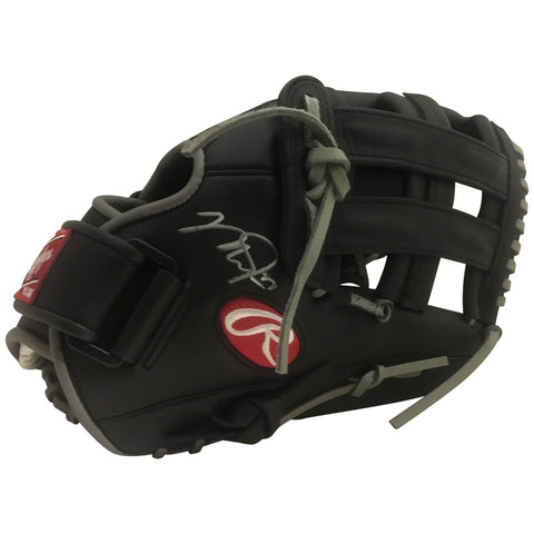 Mike Trout Los Angeles Angels Autographed MLB Signed Fielding Glove PSA DNA COA-Powers Sports Memorabilia