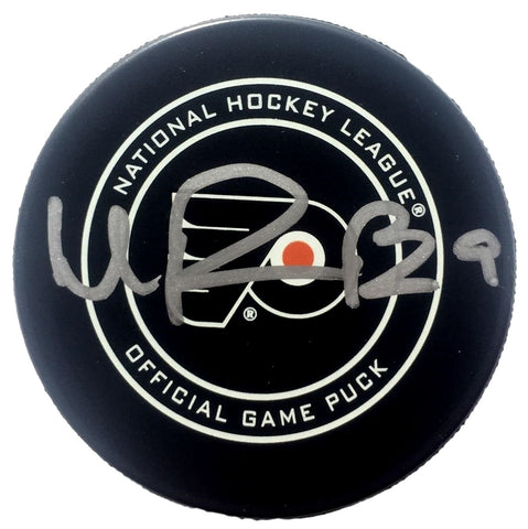 Ivan Provorov Signed Philadelphia Flyers Official Game Puck BAS PSM-Powers Sports Memorabilia