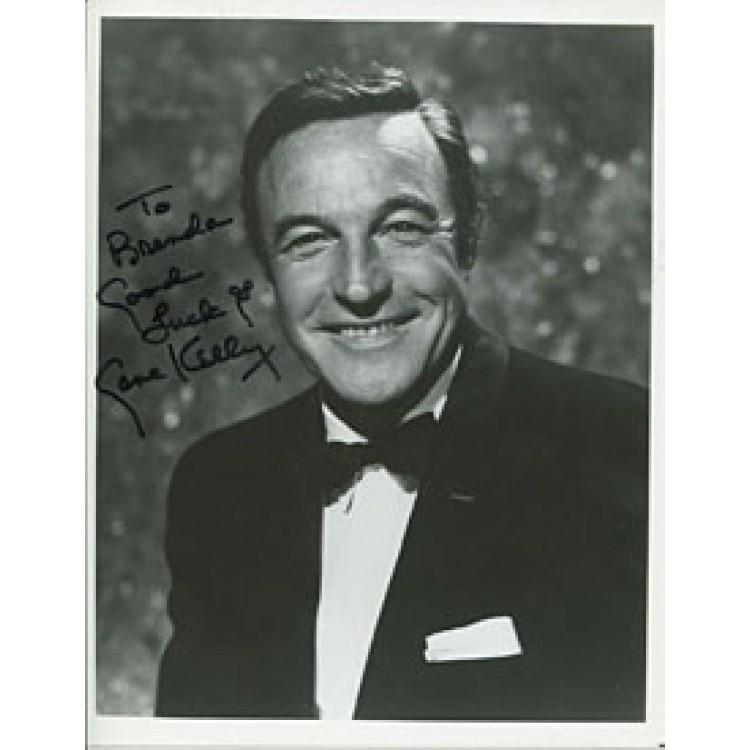 Gene Kelly Autographed/Signed 8x10 Photo PSM-Powers Sports Memorabilia