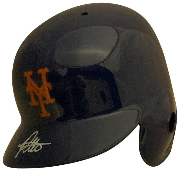 Pete Alonso Autographed New York Mets Signed Baseball Full Size Batting Helmet PSA DNA COA-Powers Sports Memorabilia