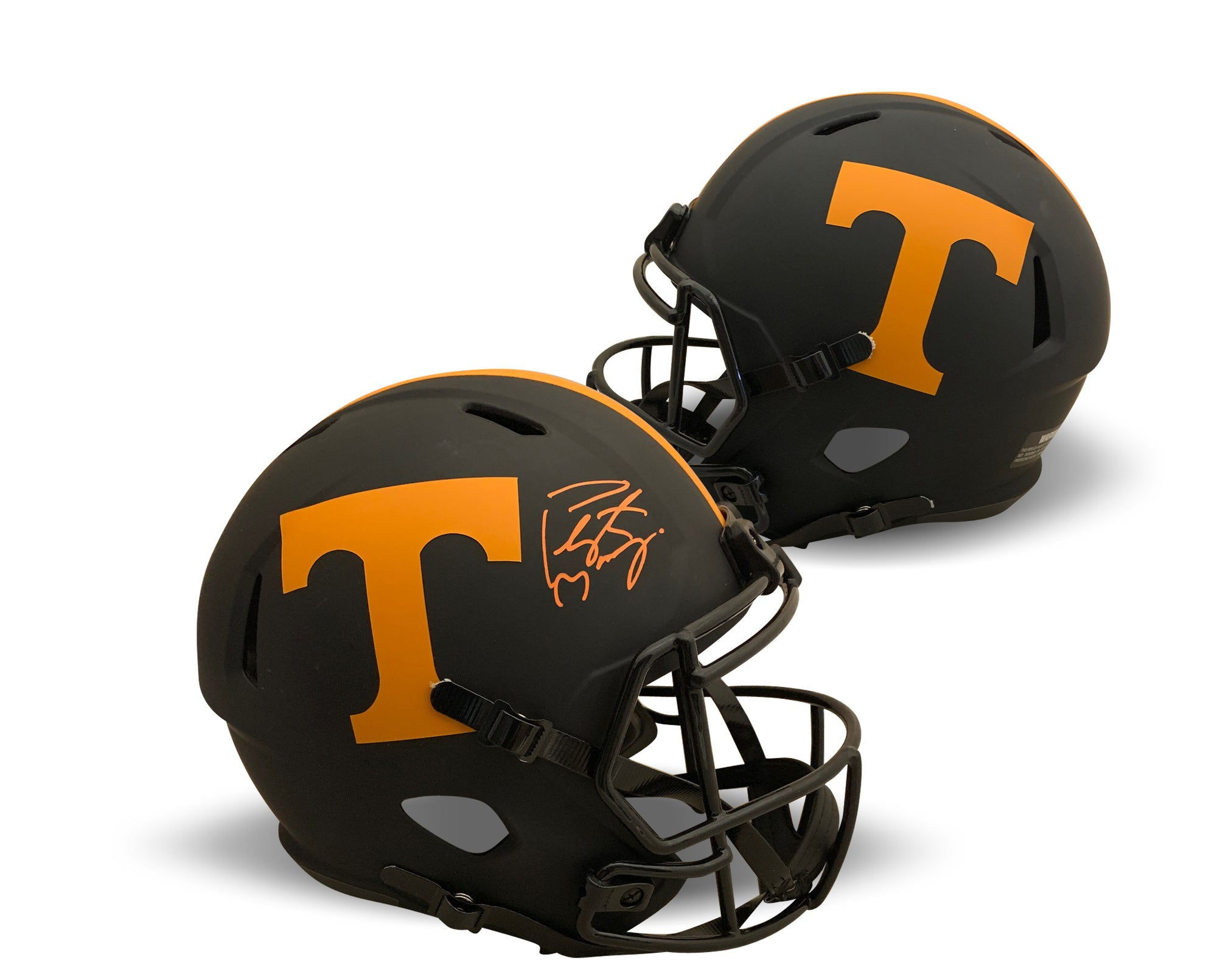 Signed Football Helmets
